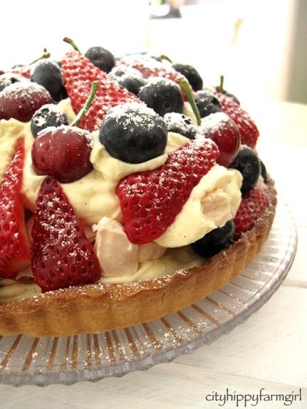 birthday thinking and a berry meringue tart cityhippyfarmgirl
