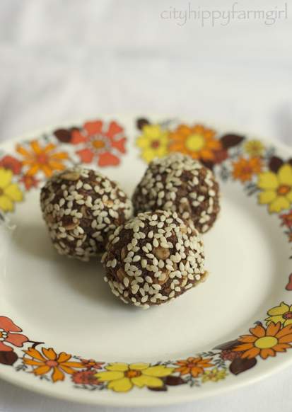 choc agave balls
