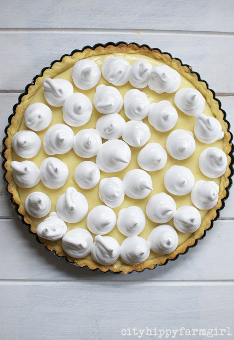 a lemon meringue pie to die for