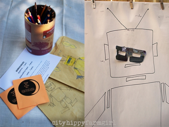 robot party ideas- cityhippyfarmgirl