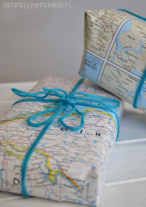 map-wrapping- cityhippyfarmgirl