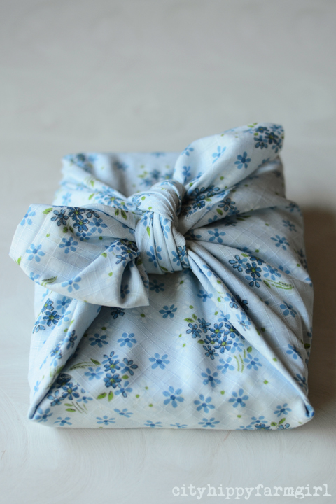 wrapping with cloth- cityhippyfarmgirl
