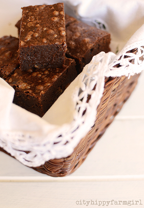 chocolate brownie- cityhippyfarmgirl