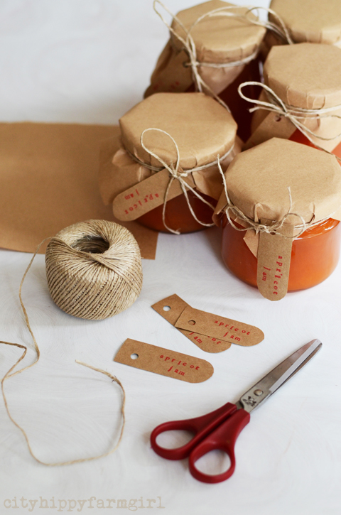 how to make gift labels- cityhippyfarmgirl