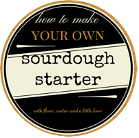 hot make a sourdough starter- cityhippyfarmgirl