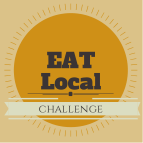 eat local challenge || cityhippyfarmgirl