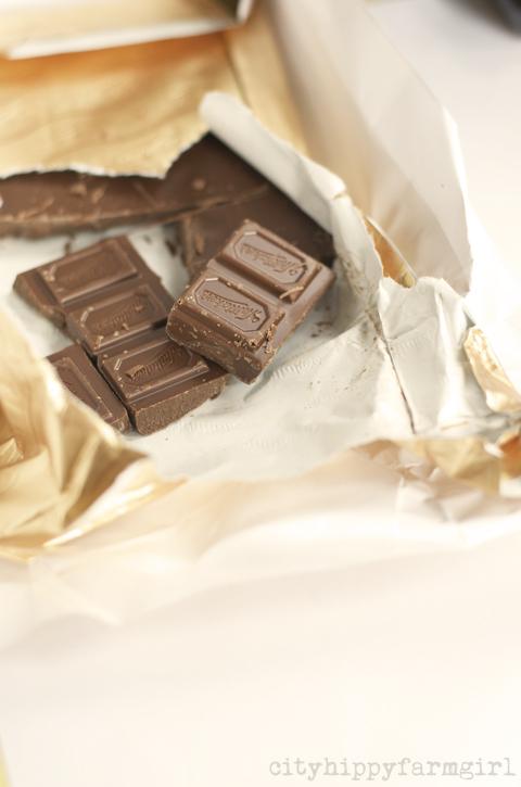 easter chocolate || cityhippyfarmgirl