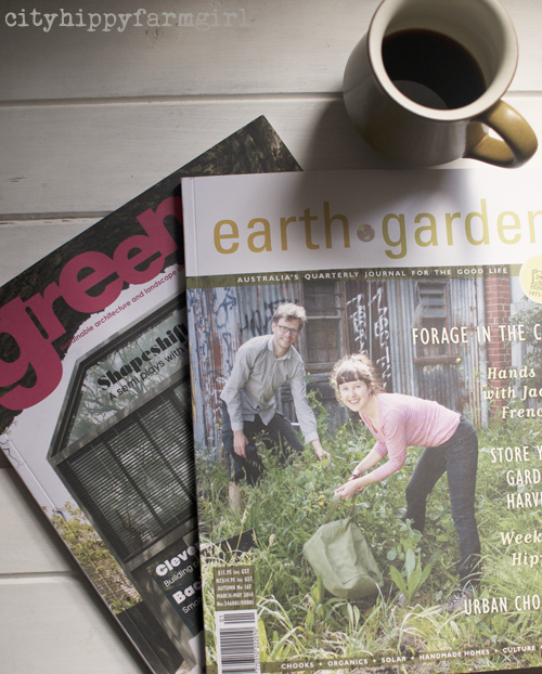 green and earth garden magazine || cityhippyfarmgirl