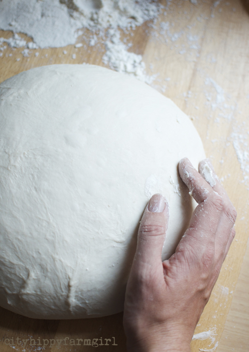 making the dough up || cityhippyfarmgirl
