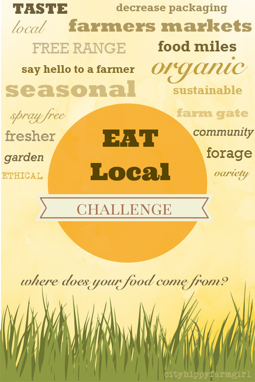 eat local || cityhippyfarmgirl