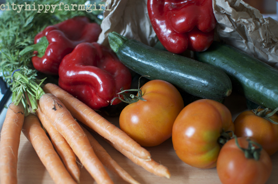 organic vegetables || cityhippyfarmgirl