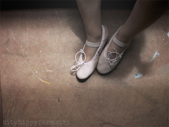 ballet shoes || cityhippyfarmgirl