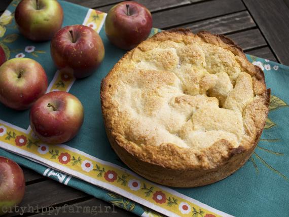 apple shortcake pie || cityhippyfarmgirl