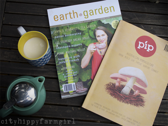 Earth Garden and PiP magazine || cityhippyfarmgirl