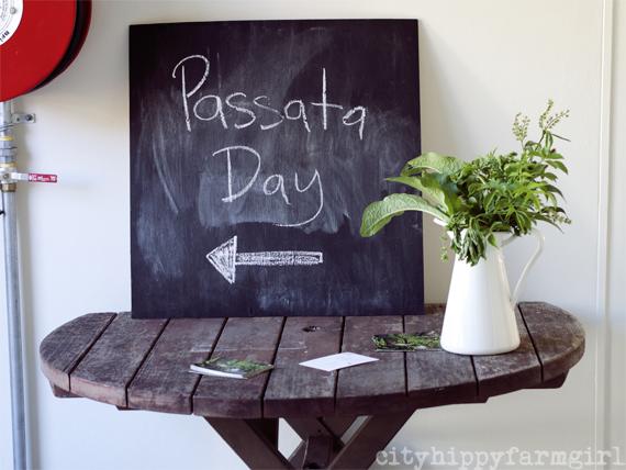 Passata Day || cityhippyfarmgirl