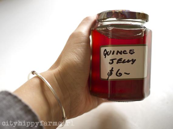 quince jelly || cityhippyfarmgirl