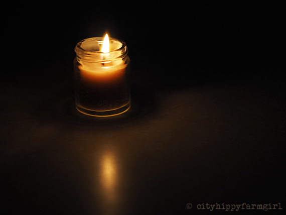 candle || cityhippyfarmgirl