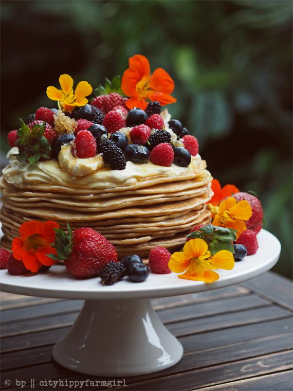 Swedish Pancake Cake